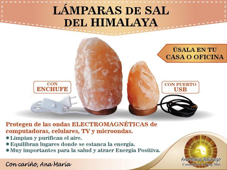 Mejores 10 im genes de feng shui l mpara de sal del - Lamparas de sal para que sirven ...