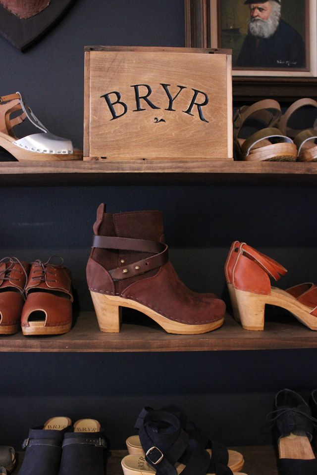 "Oh my god the oxfords! ""Bryr Clogs."""