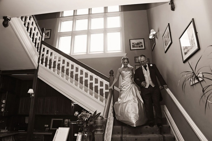 Stunning shot of coming down the stairs!