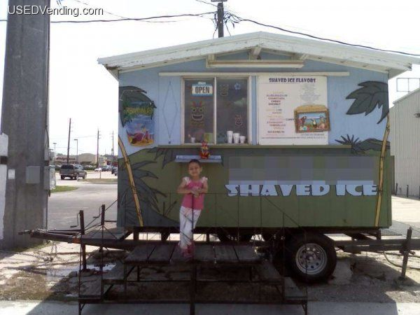 Hawaiian shaved ice building for sale