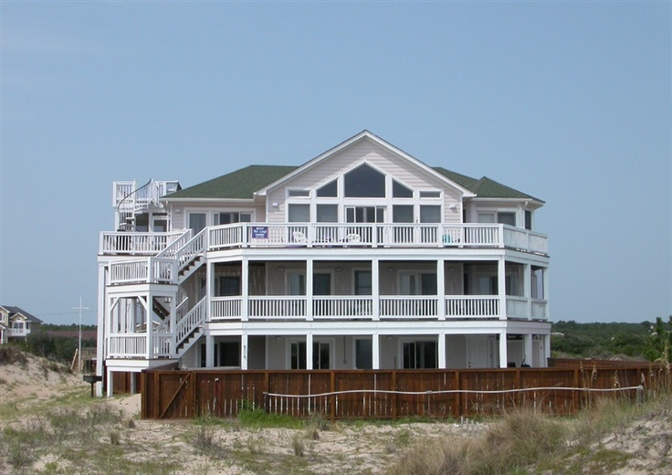 Twiddy Outer Banks Vacation Home - Cassiopeia - 4x4 - Oceanfront - 6 Bedrooms: 4X4 Nc, Beaches House, Oceanfront Vacations, Beaches 4X4, Vacation Homes, Carova Beaches, Banks Vacations, Vacations Home, Nc Vacations