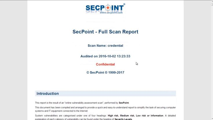 New Penetrator V38 HTML Report https://www.youtube.com/watch?v=MWwZp-uxy0A #secpoint #Penetrator #vulnerabilityscan #vulnscan #infosec  #itsecurity #infosecurity