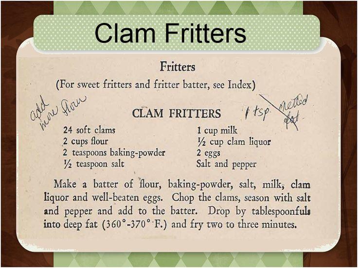 Best Maine Clam Cake Recipe
