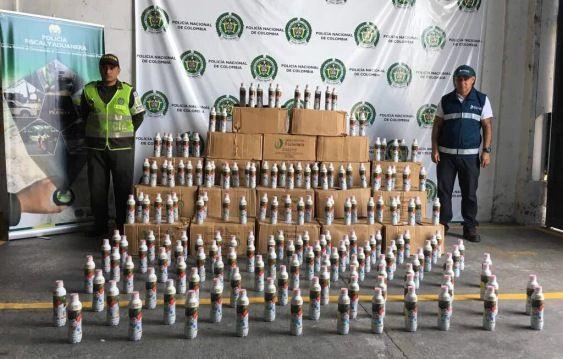 60 millones en medicamentos de contrabando, fueron aprehendidos en vía del Quindio
