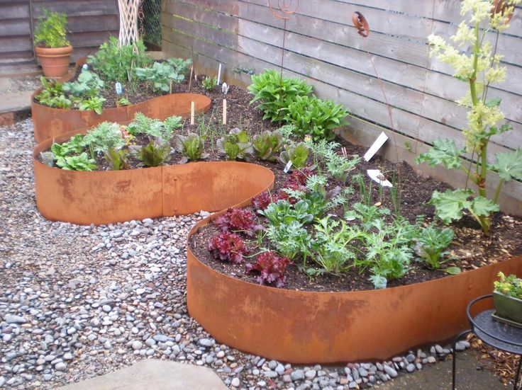Curved Planter Wal Landscape Contemporary With Raised Beds 400 x 300