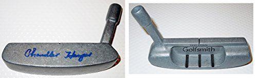 Chandler Harper Autographed - Hand Signed PGA Golf Putter Head - Deceased 2004 - 1950 PGA Championship
