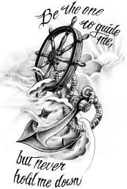 Image result for anchor and clock tattoos