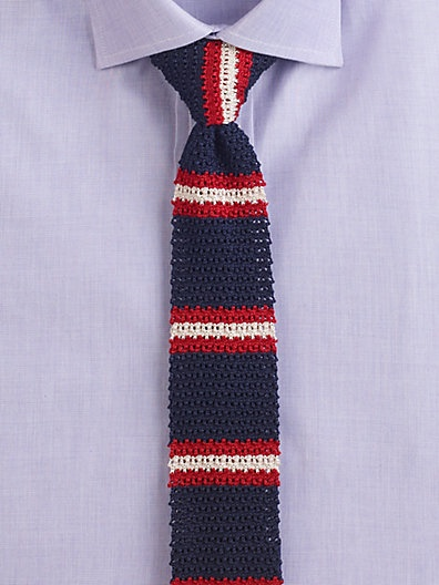Knitted Necktie Pattern Images Knitting Patterns Free Download