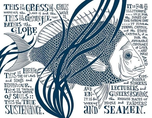 """7 Beautifully Illustrated Excerpts From Walt Whitman's """"Song Of Myself"""""""
