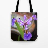 Iris. Tote Bag
