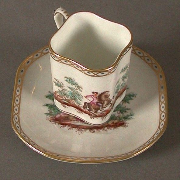 Porcelain collecting cup. Richard Ginori. Italien.