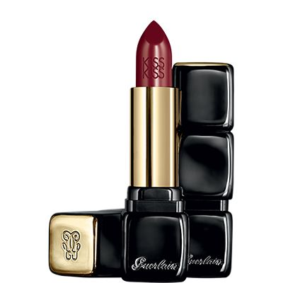 Vampy Lips: i migliori rossetti dark per labbra scure e seducenti | Trend Make Up Autunno 2014 - Guerlain Kiss Kiss Red Hot