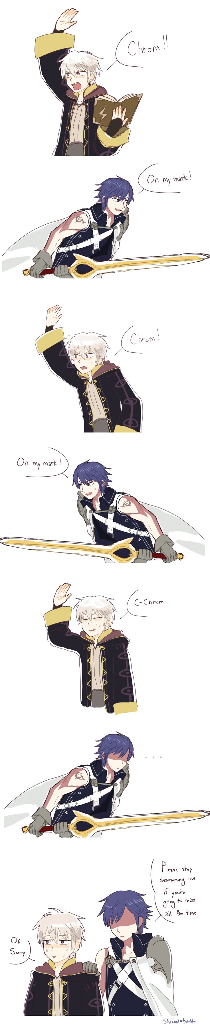 Robin's Final Smash by sheebal.deviantart.com on @DeviantArt But then I wouldn't be able to summon my husband as much if we kill them all! :P