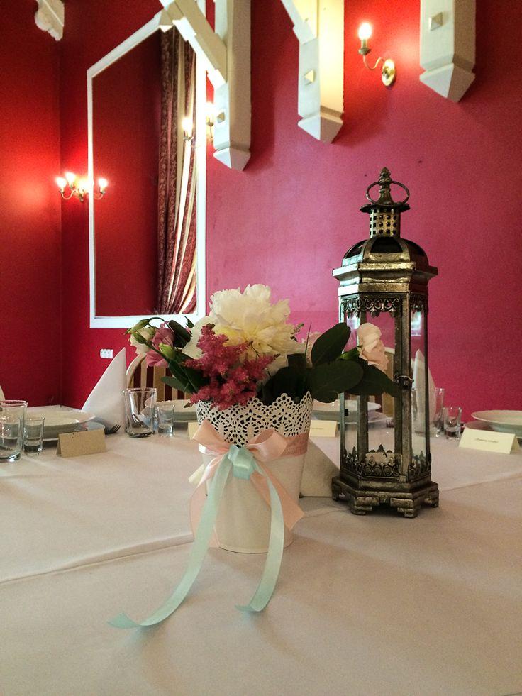 Kwiaty na Stół #slub #ślub #zielonenabialym #bukiet #bukiety #wiązanki #ślubne #dekoracje #jeleniagora #wesele #kwiaty #wedding #decor #flowers
