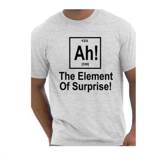 Periodic Table Nerd Geek Science T-shirt