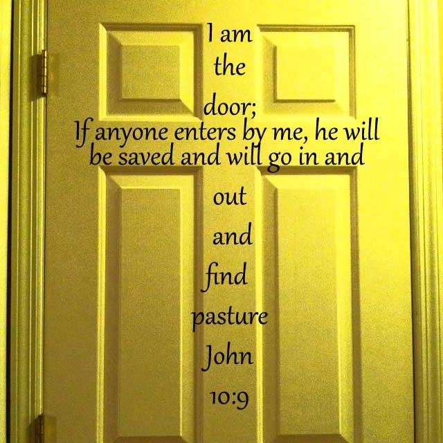 Bible quote door i love this ilovegod pinterest for Door quotation