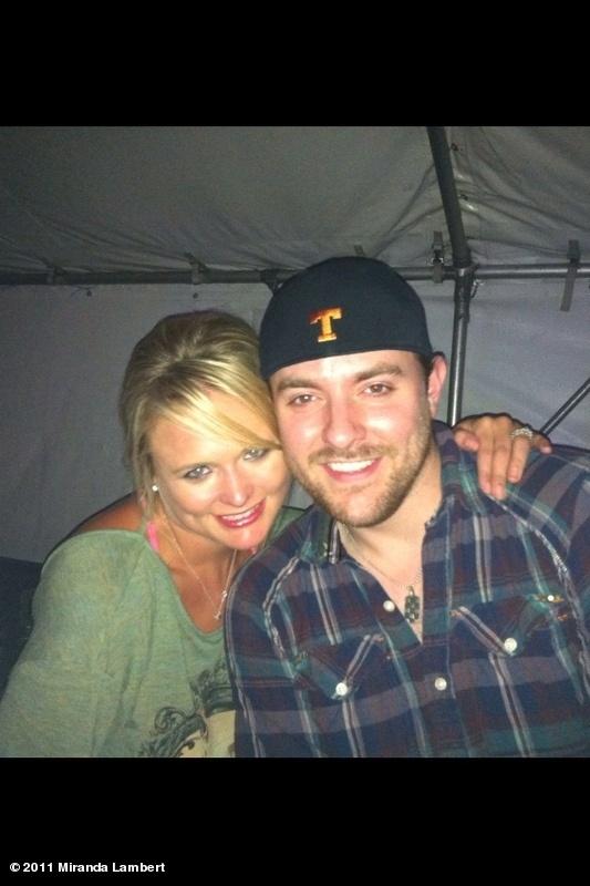 Chris Young and Miranda Lambert