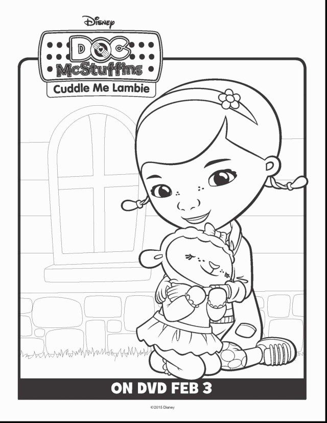 Wonderful Photo Of Doc Mcstuffin Coloring Pages Printable