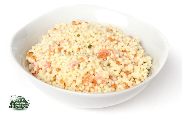 La Cuisine de Bernard: La Salade de Perles au Saumon
