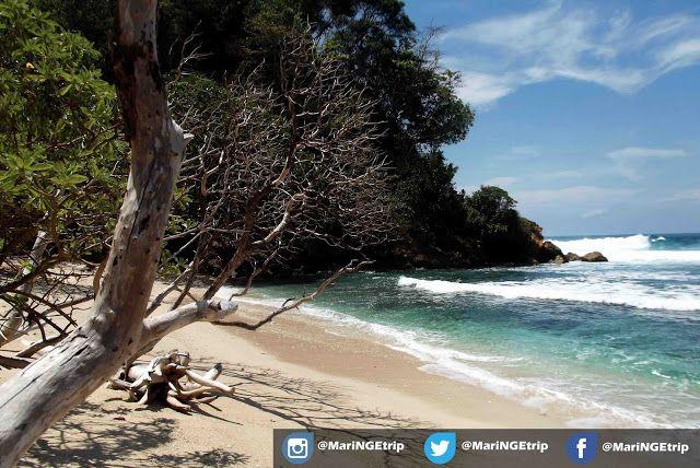Ngalur Beach, Malang, East Java, Indonesia