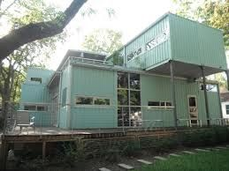 I heard a very interesting story on NPR about homes and business made out of shipping containers. It was fascinating. It intrigued me for...