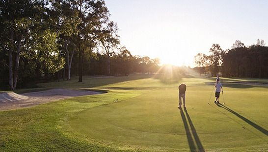 2 for 1 Golf at the Beautiful Gainsborough Greens Golf Club. Enjoy this elite course with a mate while just paying for one! #golf #golf2for1 #golfqld