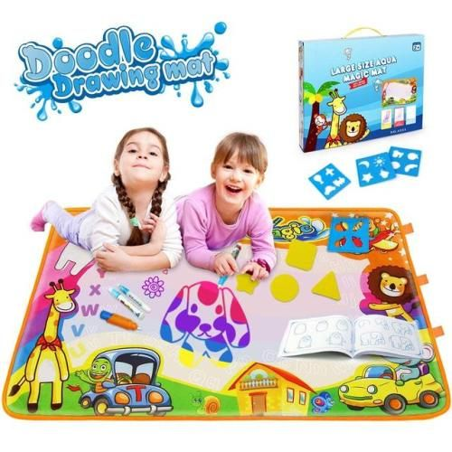 Betheaces Water Drawing Mat Aqua Magic Doodle Kids Toys Mess