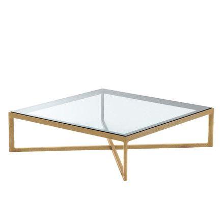 Knoll - Coffee Table, Eiche / Glasplatte, Einzelabbildung
