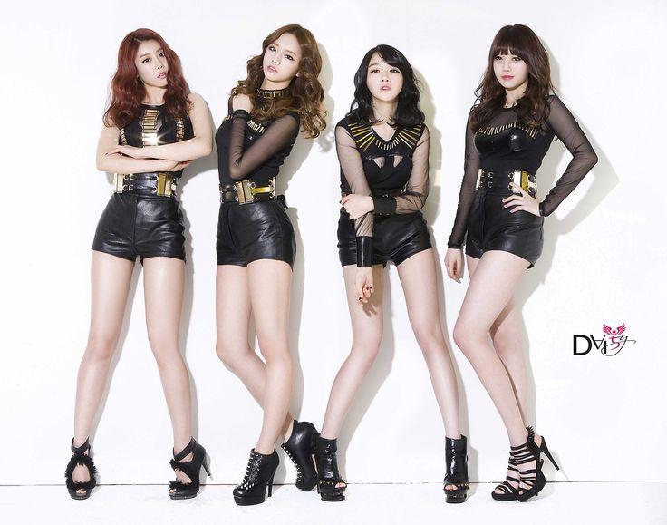Name: Girl's Day Debut: 2010 Members: Sojin, Ahyoung, Minah, Hyeri Former Member(s): Jiin, Jihae, Jisun