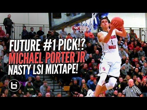 Future #1 NBA Draft Pick!? Michael Porter Jr GOES OFF at LSI! NASTY Mixt...