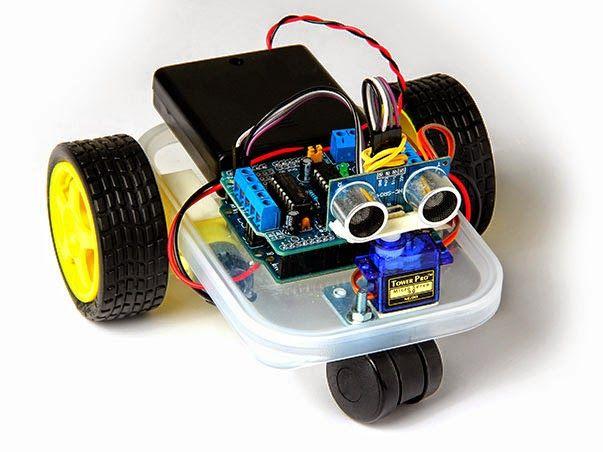 أردوينو و راسبيري طريق الهواة لتعلم تصميم الدارات الإلكترونية و الروبوت