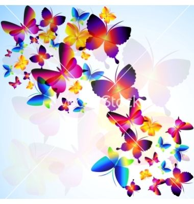 colorful-background-with-butterfly-vector-781476.jpg (380 ...