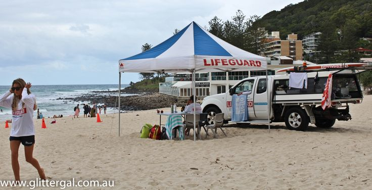 Surfer's Paradise-Australia - Lifeguards in action!