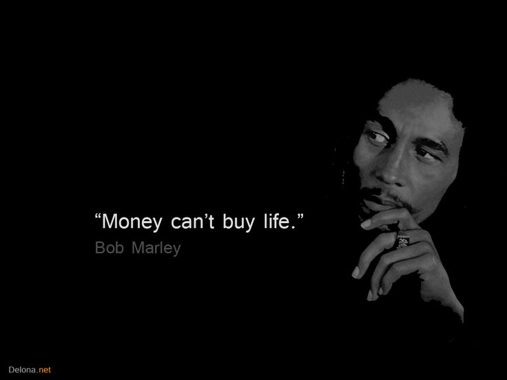 Money Can't Buy Life Bob Marley Black and White T | bob-marley-quotes