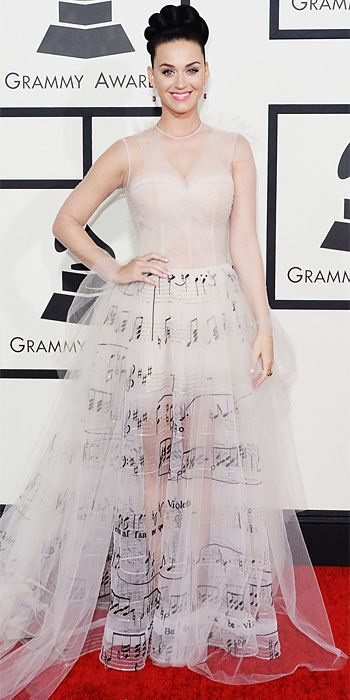 Katy Perry - Red Carpet Arrivals - Grammy Awards 2014 - Celebrity - InStyle
