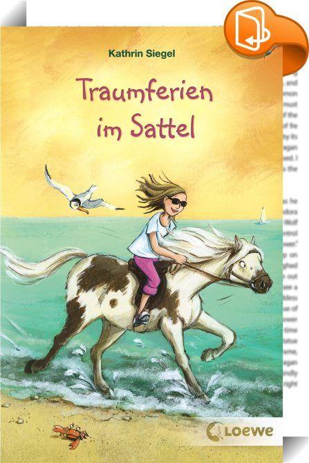 """Traumferien im Sattel    ::  Pferdespaß im Doppelpack! Sommer, Pferde und die erste Liebe für Mädchen ab 10 Jahren. Dieses eBook enthält die beiden Einzelbände """"Erbschaft - Liebe inbegriffen"""" und """"Eine filmreife Freundschaft"""".  Was braucht man mehr zum Glücklichsein als Pferde und eine beste Freundin? Klar, dass Pina begeistert ist, als ihre Eltern ein Haus und ein Pony auf Mallorca erben! Schließlich wohnt dort auch ihre Internetfreundin Andrea. Doch die stellt Pina vor allerhand Rät..."""