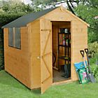 http://www.diy.com/departments/outdoor-and-garden/sheds-cabins-and-summerhouses/sheds/wooden-sheds/assembly-required/base-not-included/shiplap/shiplap/tongue-and-groove/apex/8x6/_/N-a34Z1z140r1Z1z13r69Z1z13r6fZ1z11zo1Z1z12mvcZ1z1363cZ1z12vyx £309 Sheds Direct