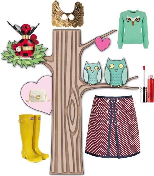 """Owl View"" by kikajit on Polyvore"