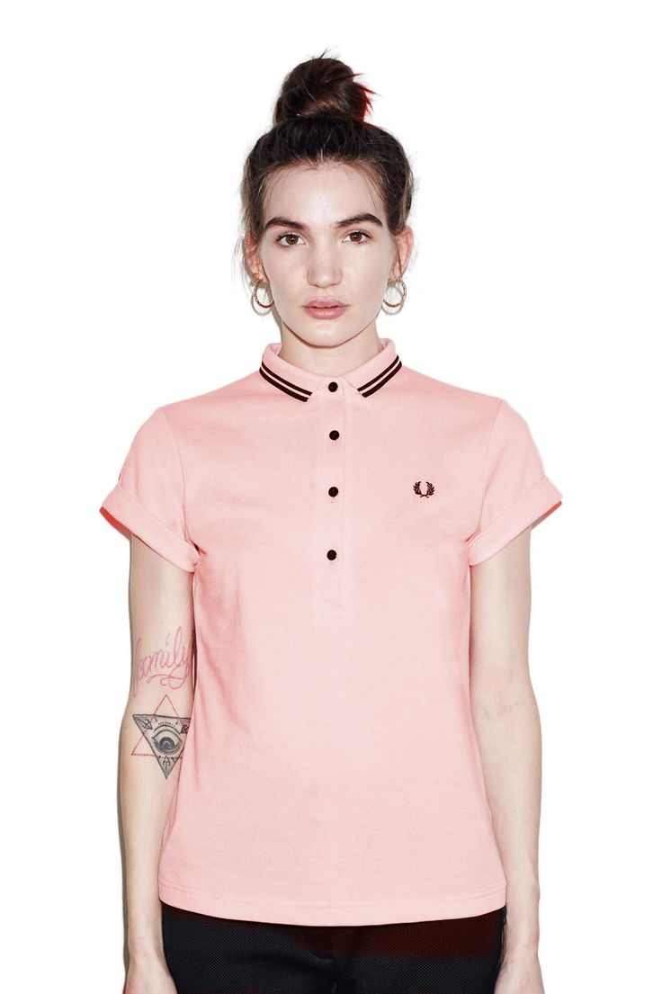 Amy Winehouse Twin Tipped Fred Perry Shirt