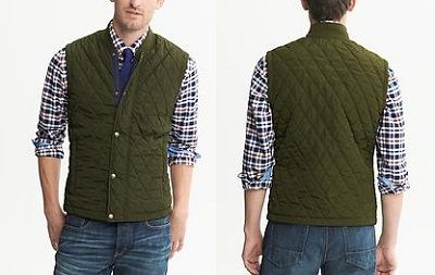 40% Off BR & Gap, 30% Off Old Navy Fall Preview : quilted mens vest - Adamdwight.com