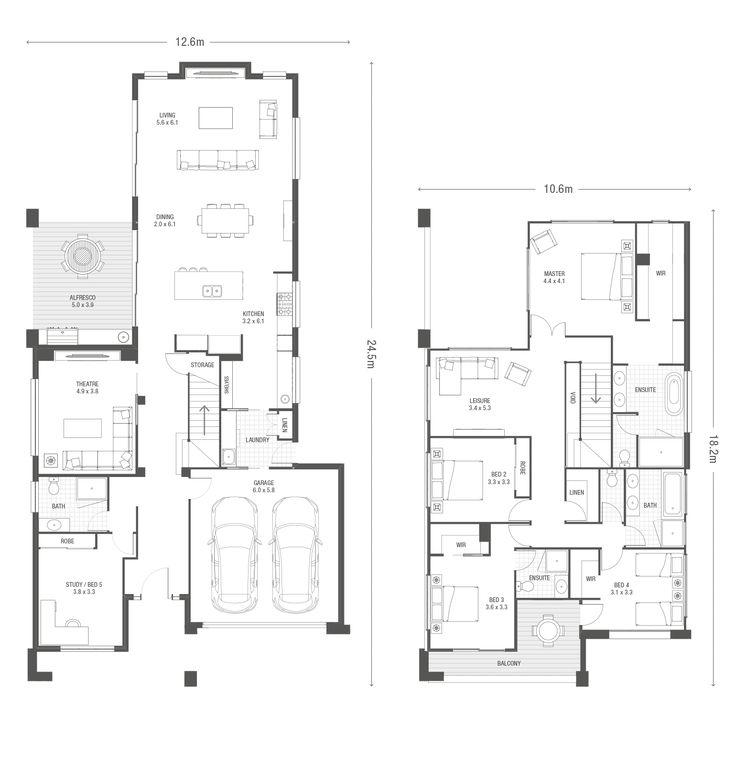 Flemington plan ausbuild · awesome househome designfloor