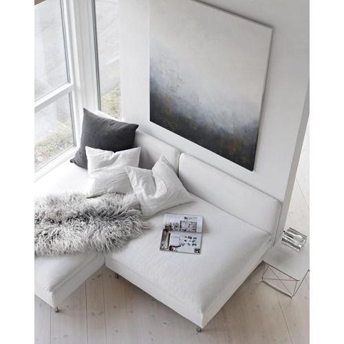 Les 25 meilleures id es de la cat gorie canap profond sur for Petit canape confortable