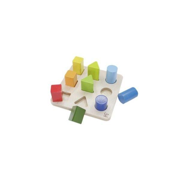 Un gioco multi-funzione con forme colorate con vernici ad acqua permettono un primo approccio all'apprendimento delle classificazione contare, ordinare, riconoscere forme e colori.Età 12mesi