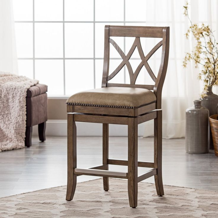 Belham Living Hutton Leather Backless Saddle Counter Stool: 1000+ Ideas About Leather Counter Stools On Pinterest