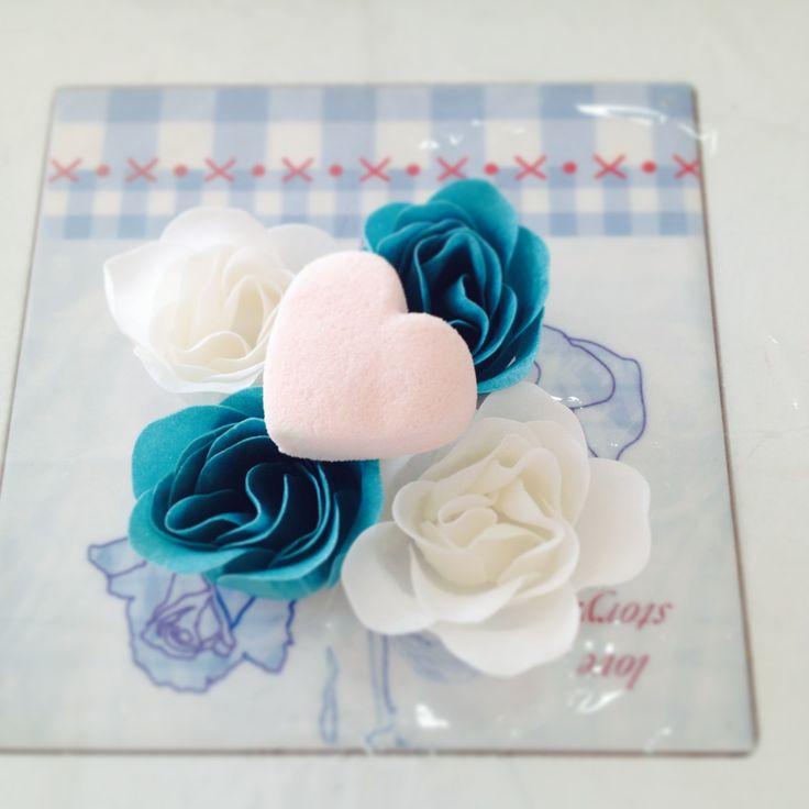 Hojas de jabon tipo Rosas para decorar tus eventos.