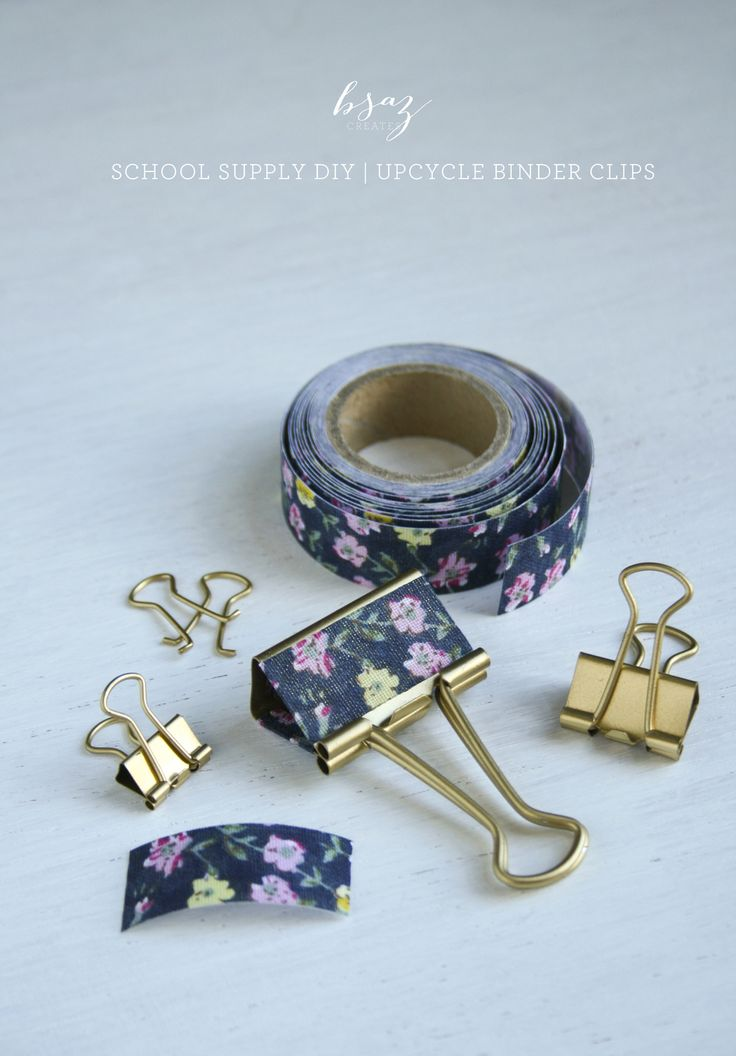 Oh, how I love me some school supplies! Who am I kidding, I am the girl who can't break up with school supply shopping, no matter how long ago it was that I was a student. With Chicago going back to school this week, I thought it would be fun to share some School Supply DIYs. Who needs to buy