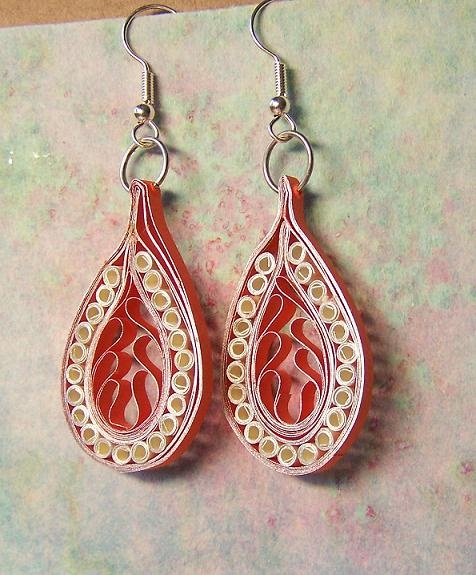 Quilling Papers Earrings: 338 Best Images About Quilling Earrings On Pinterest