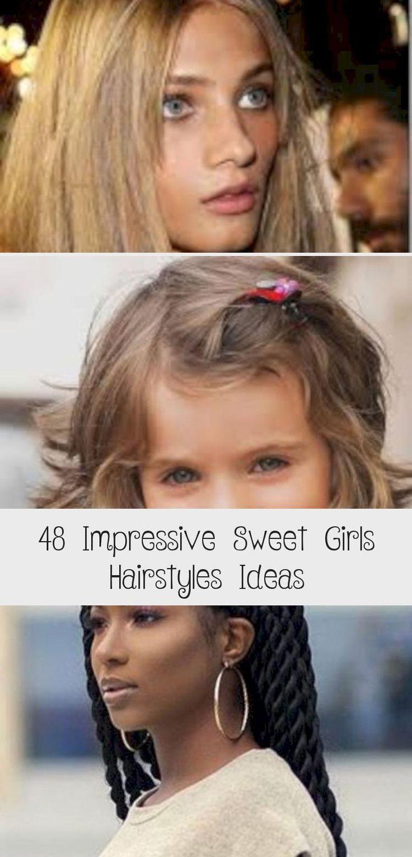 Impressive Sweet Girls Hairstyles Ideas 27 #babyhairstylesDIY #babyhairstylesGirl #babyhairstylesTutorial #babyhairstylesForWedding #Littlebabyhairstyles