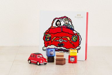 伊マイアーニがフィアットのチョコレートを発売