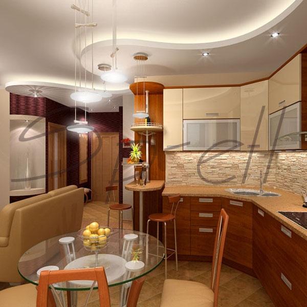 дизайнерские идеи интерьера: Интерьер кухни-столовой: цвет, декор и стиль, дизайнерские